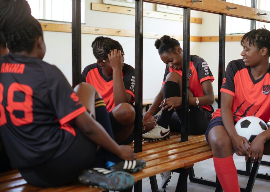 Deporte y salud de jóvenes.