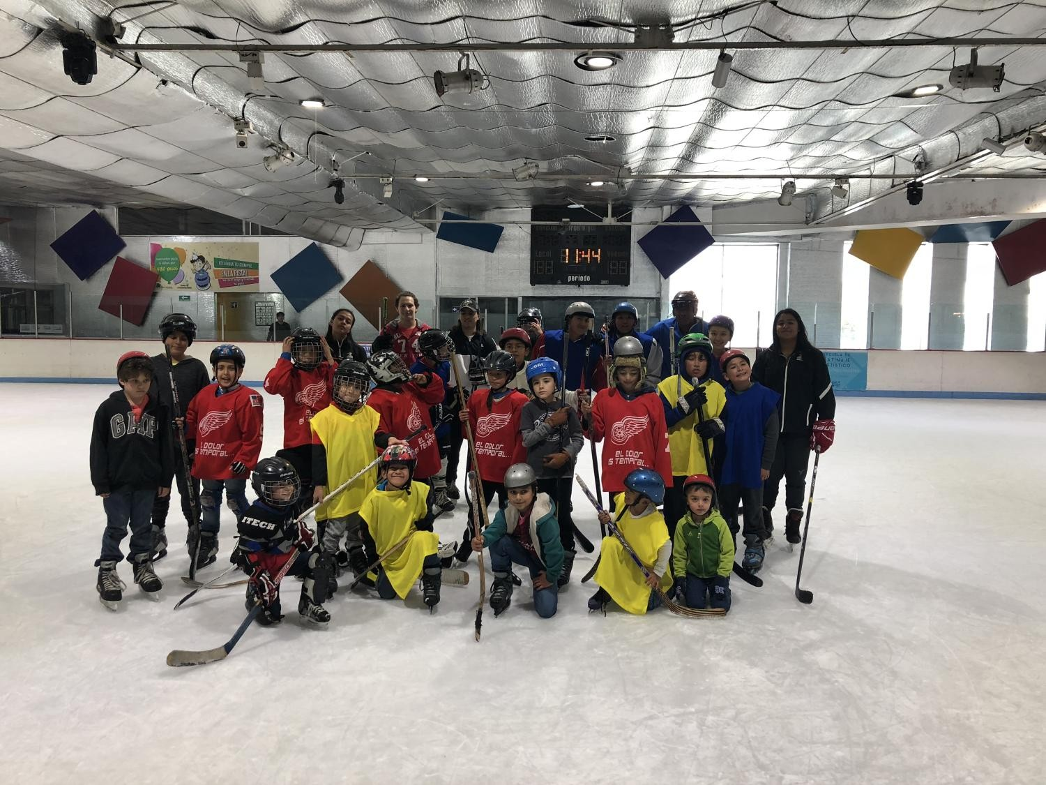 Club puebla ice hockey  Talaveros  cover profesional de Hockey en Puebla