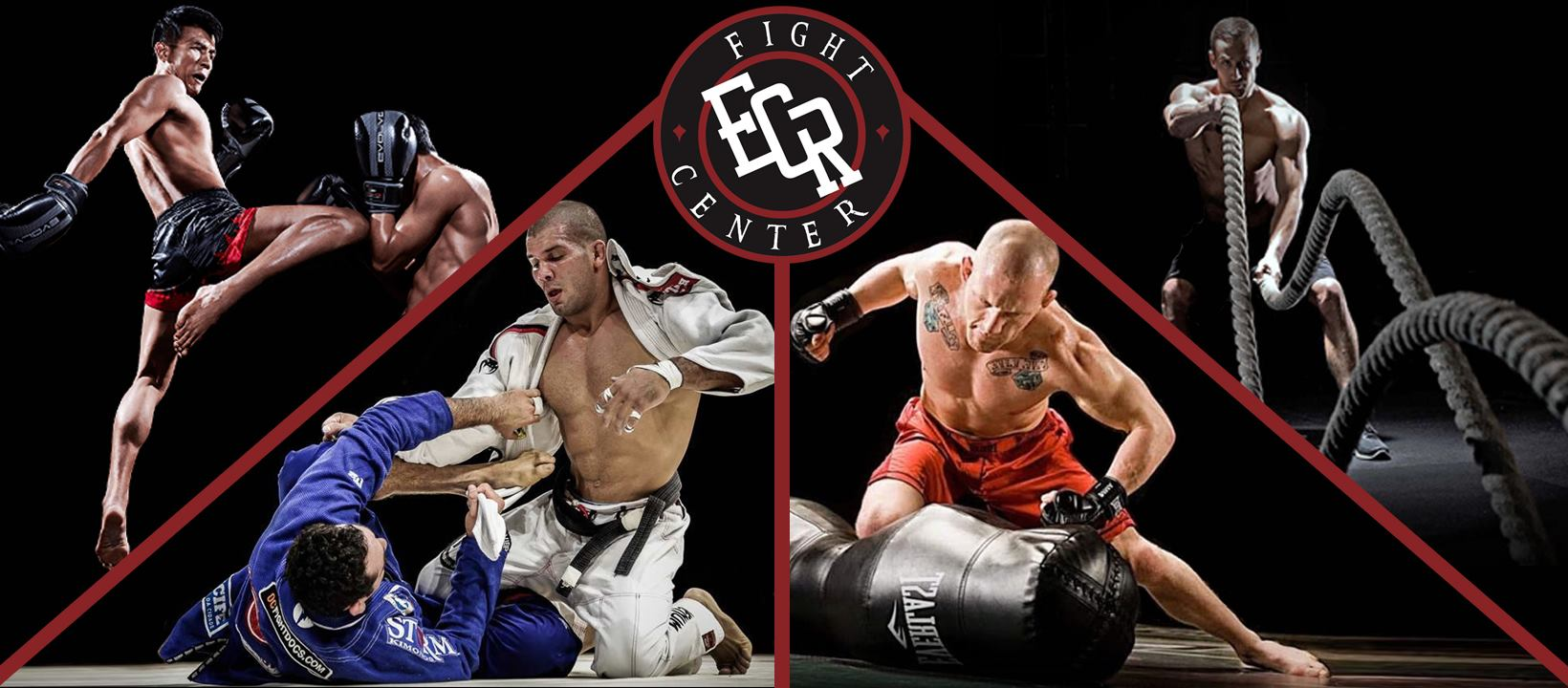 ECR Fight Center  cover profesional de MMA en Cancún